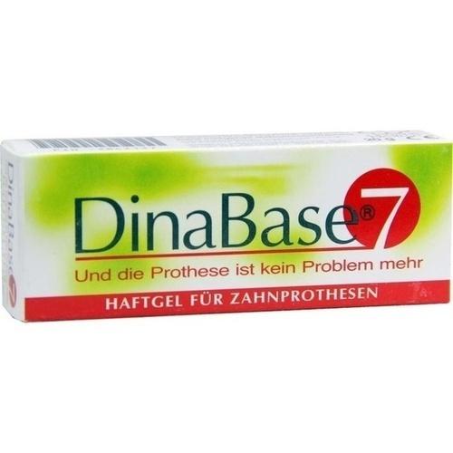 DINABASE 7 Haftgel für Zahnprothesen 1 St.