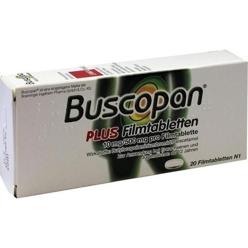 buscopan plus dosierung