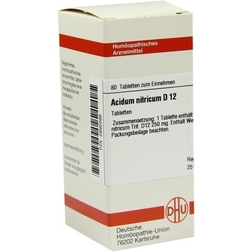 ACIDUM NITRICUM D 12 Tabletten