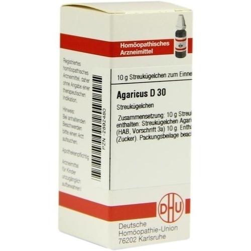 AGARICUS D 30 Globuli