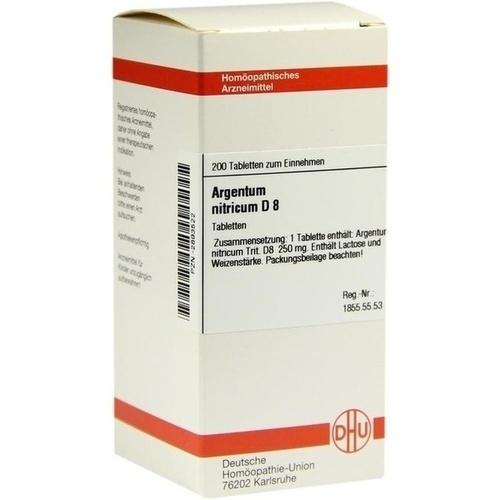 ARGENTUM NITRICUM D 8 Tabletten