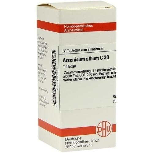 ARSENICUM ALBUM C 30 Tabletten
