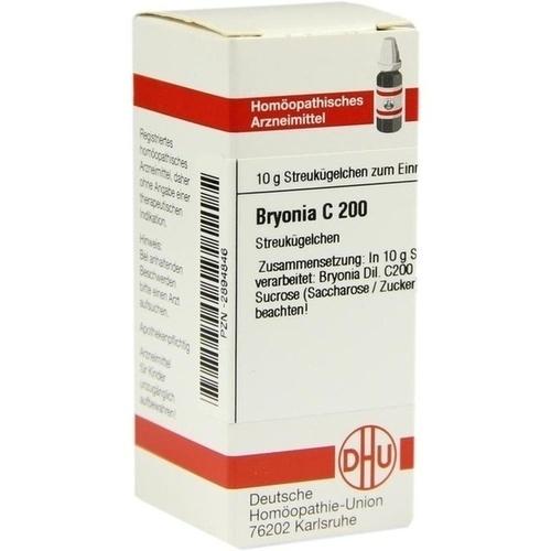 BRYONIA C 200 Globuli