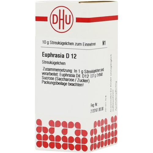 EUPHRASIA D 12 Globuli