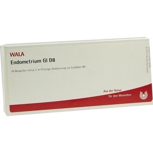 WALA ENDOMETRIUM GL D 8 Ampoules
