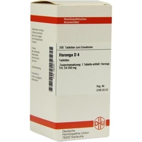 HARONGA D 4 Tabletten