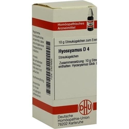 DHU HYOSCYAMUS D 4 Globules