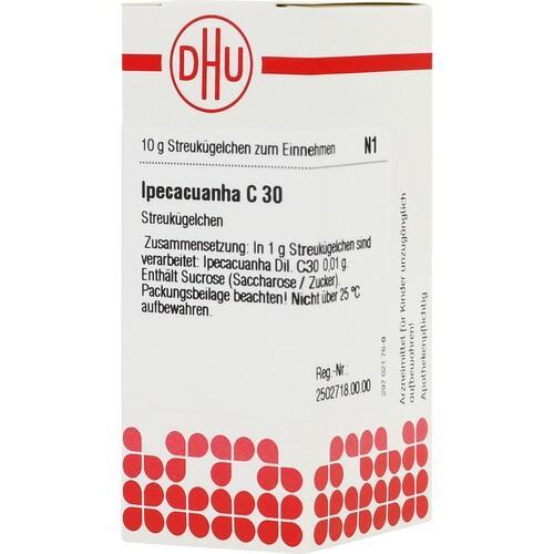 DHU IPECACUANHA C 30 Globules