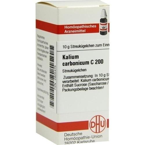 KALIUM CARBONICUM C 200 Globuli