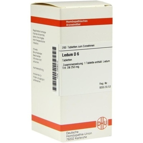 LEDUM D 6 Tabletten