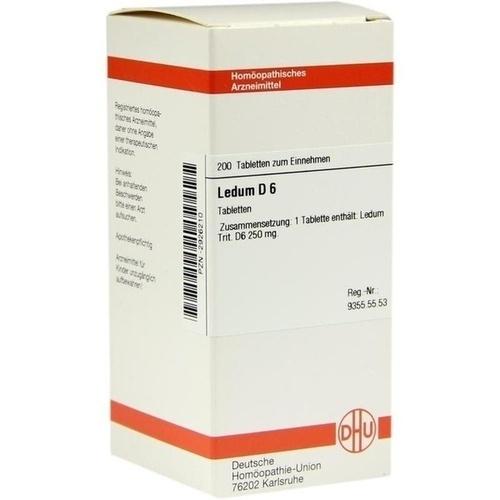 DHU LEDUM D 6 Tablets