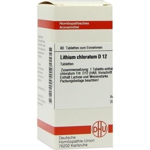LITHIUM CHLORATUM D 12 Tabletten