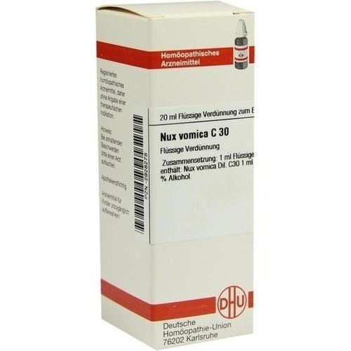 NUX VOMICA C 30 Dilution