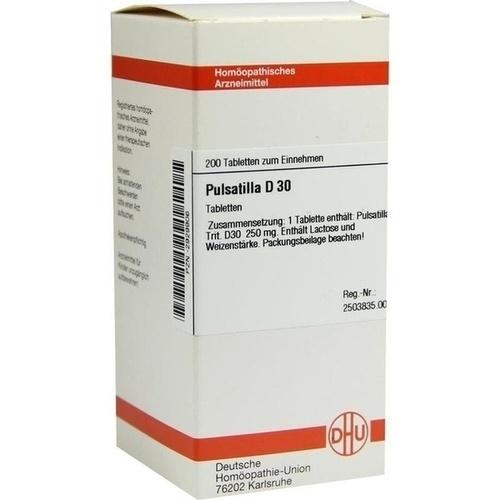 PULSATILLA D 30 Tabletten