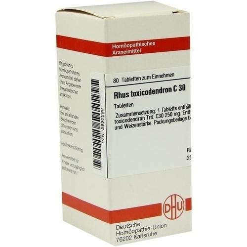 RHUS TOXICODENDRON C 30 Tabletten