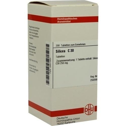 SILICEA C 30 Tabletten