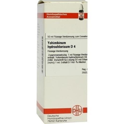 YOHIMBINUM HYDROCHLORICUM D 4 Dilution