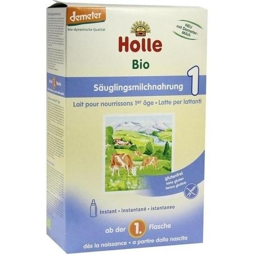 HOLLE Bio Säuglings Milchnahrung 1