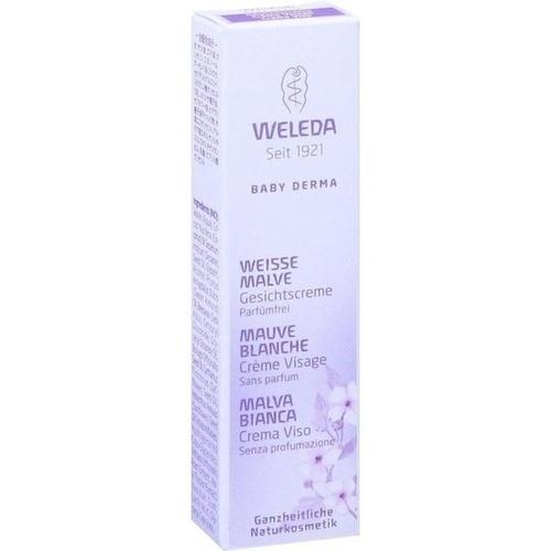WELEDA weiße Malve Gesichtscreme Probierpackung 10 ml
