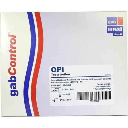 DROGENTEST Opiate 2.000 ng/ml Teststreifen 1 St