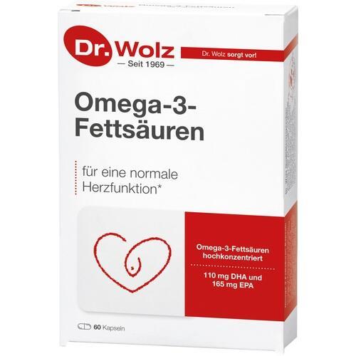 OMEGA-3 Fettsäuren 500 mg/60% Kapseln