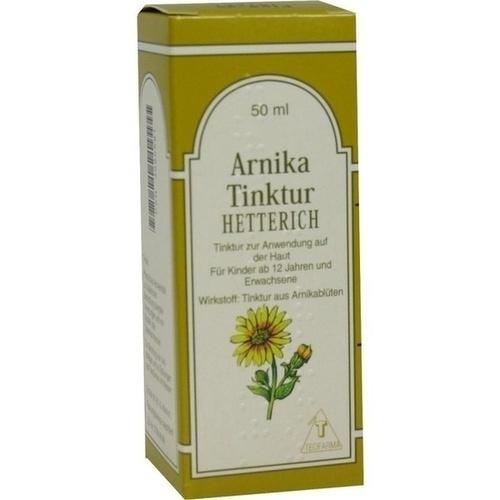 ARNIKA TINKTUR Hetterich 50 ml