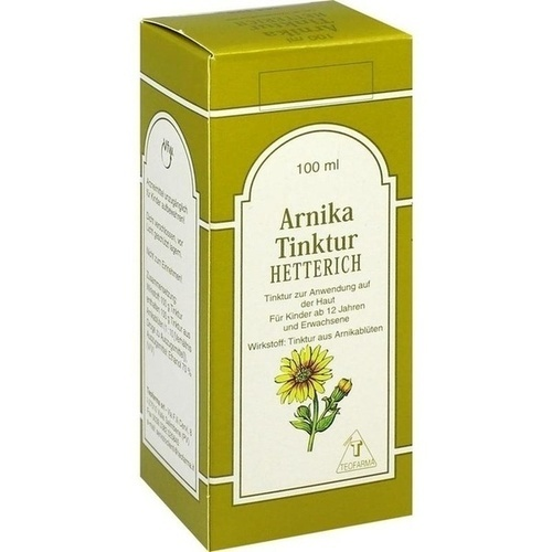 ARNIKA TINKTUR Hetterich 100 ml