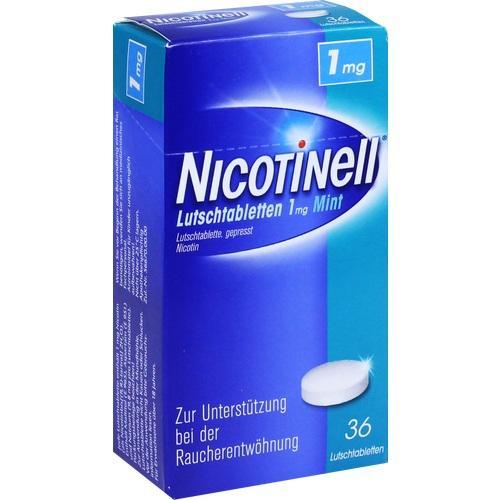 NICOTINELL Lutschtabletten 1 mg Mint 36 St.