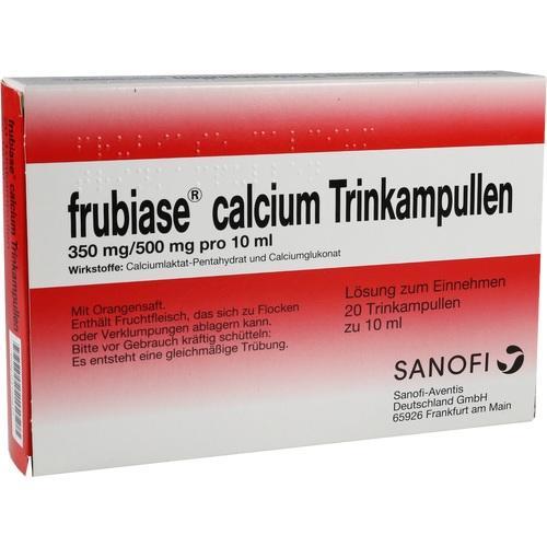 FRUBIASE CALCIUM T Trinkampullen