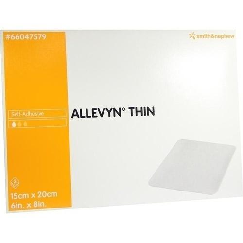 ALLEVYN Thin 15x20 cm dünne Wundauflage