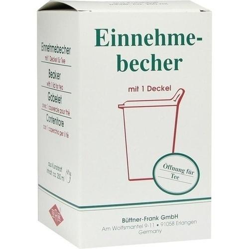 EINNEHMEBECHER Kunststoff m.abnehmb.Trinkdeckel