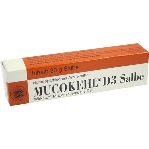 MUCOKEHL Salbe D 3