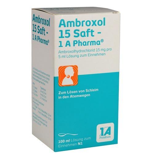 AMBROXOL 15 Saft-1A Pharma