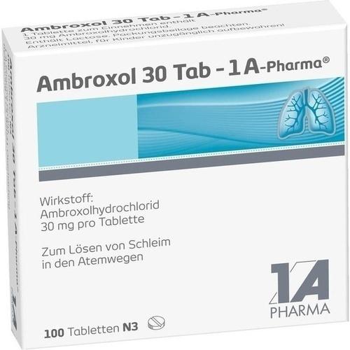AMBROXOL 30 TAB 1A PHARMA