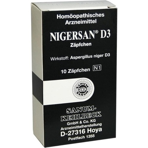 NIGERSAN D 3 Suppositorien