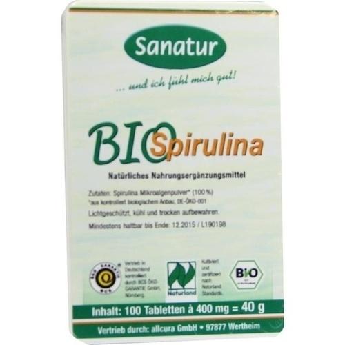 SPIRULINA BIO Tabletten