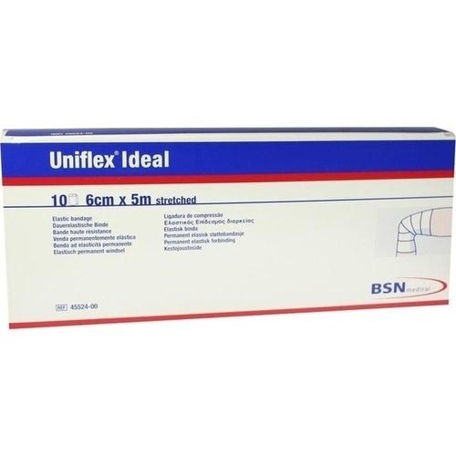 UNIFLEX ideal Binden 6 cmx5 m weiß lose