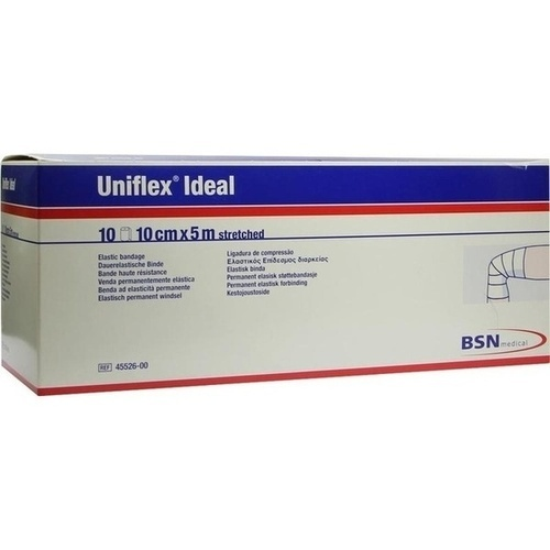 UNIFLEX ideal Binden 10 cmx5 m weiß lose