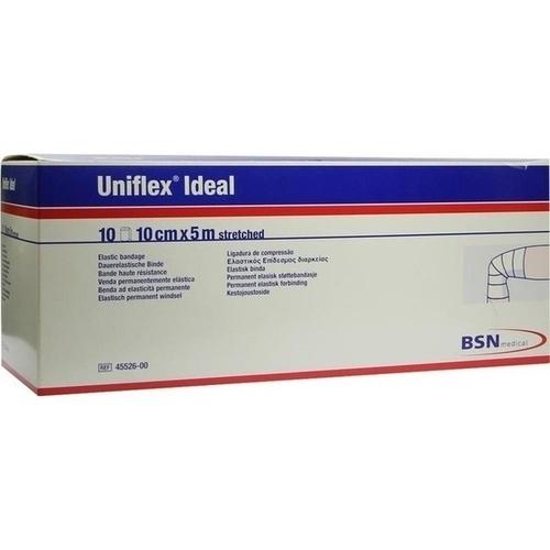 UNIFLEX ideal Binden 10 cmx5 m weiß lose
