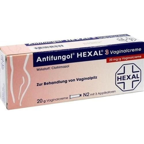 ANTIFUNGOL HEXAL 3 Vaginalcreme
