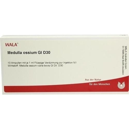WALA MEDULLA OSSIUM GL D 30 Ampullen