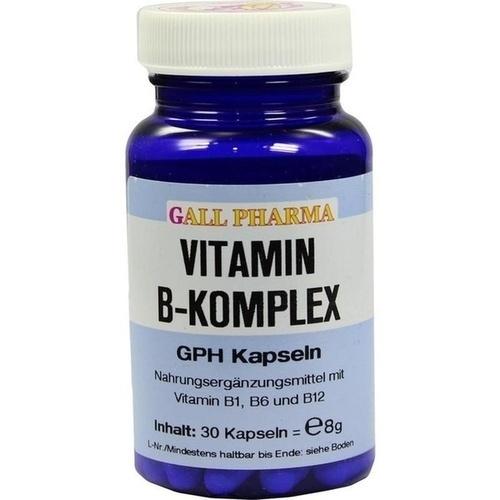 vitamin b komplex gph kapseln 30st bodfeld apotheke. Black Bedroom Furniture Sets. Home Design Ideas
