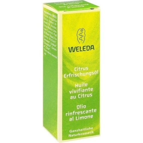 WELEDA Citrus Erfrischungsöl 10 ml