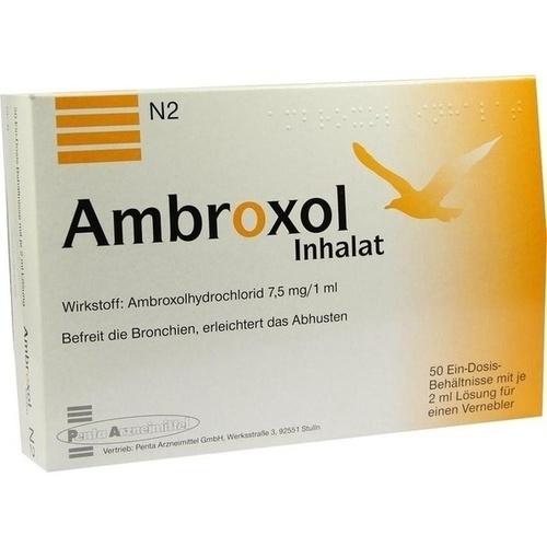 AMBROXOL Inhalat Lösung für einen Vernebler