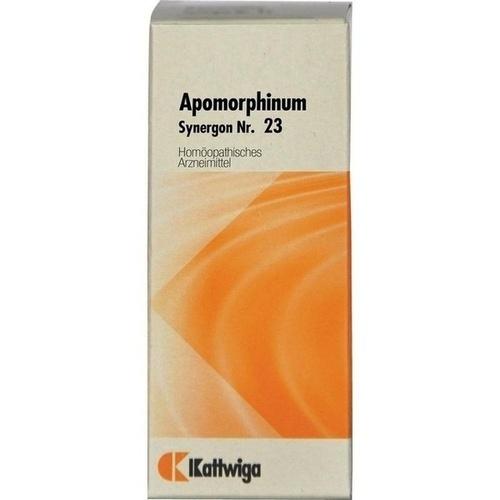 SYNERGON KOMPLEX 23 Apomorphinum N Tropfen