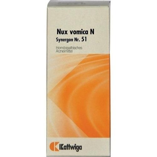 SYNERGON KOMPLEX 51 Nux Vomica N Tropfen