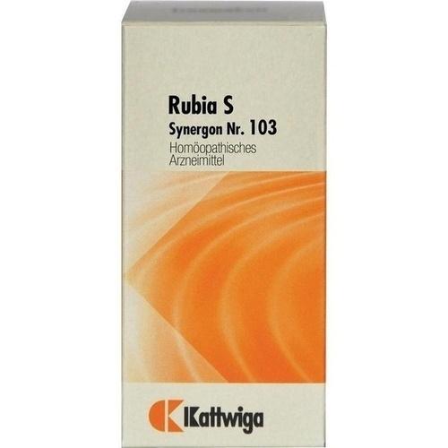 SYNERGON KOMPLEX 103 Rubia S Tabletten