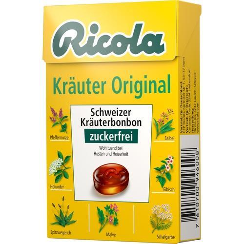 RICOLA o.Z.Box Kräuter Bonbons