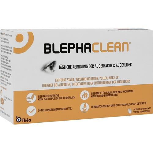 BLEPHACLEAN Kompressen sterile