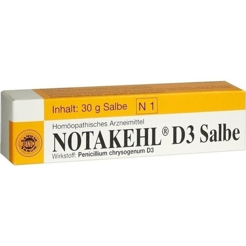 NOTAKEHL D 3 Salbe